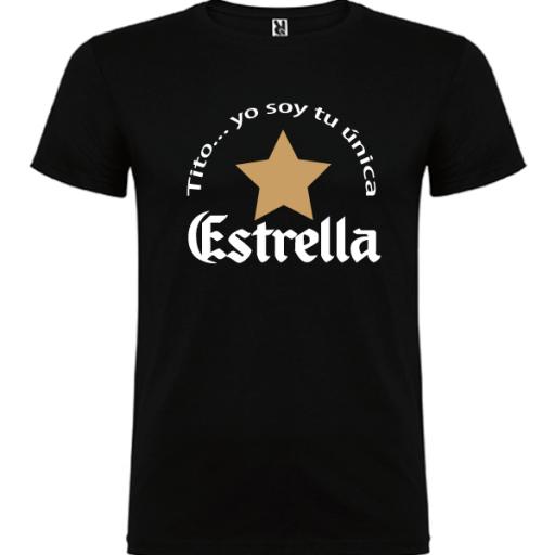 Camiseta Tito soy tu única estrella [1]