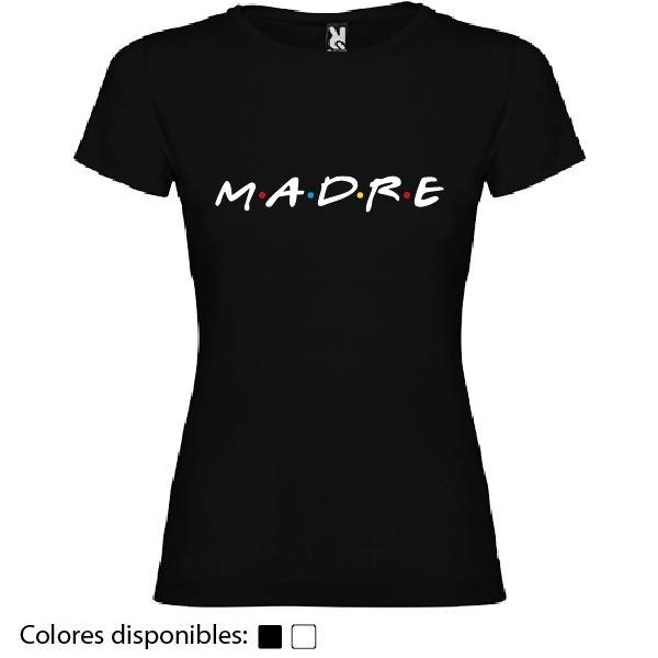 Camiseta Madre (Diseño Friends)