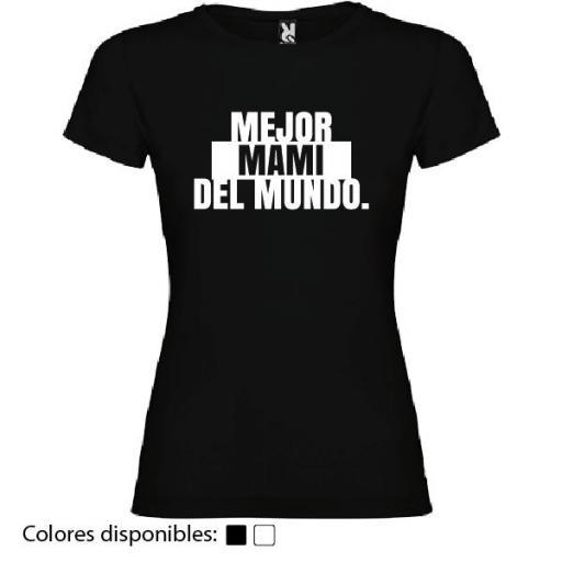 Camiseta Mejor Mami del Mundo [1]