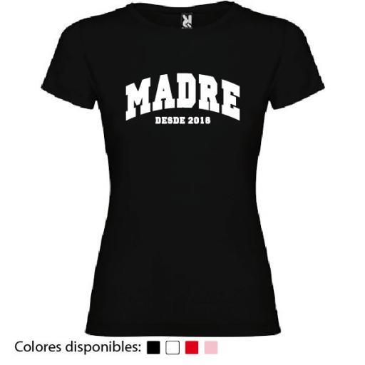 Camiseta Personalizada Madre Desde [1]