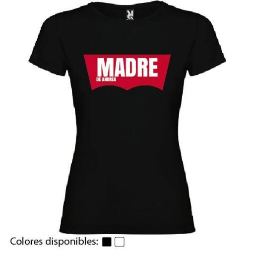 Camiseta Madre de... (Diseño Levi's) [1]