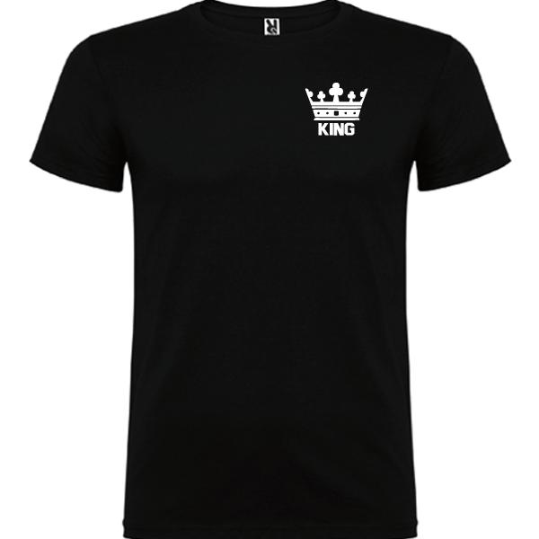 Camiseta original King Negro