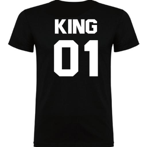 Camiseta original King Negro [1]
