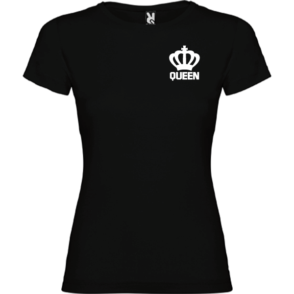 Camiseta original Queen Negro