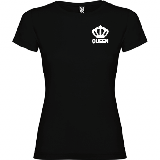 Camiseta original Queen Negro [0]