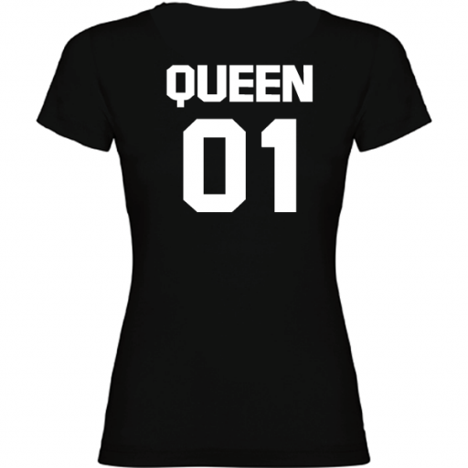Camiseta original Queen Negro [1]