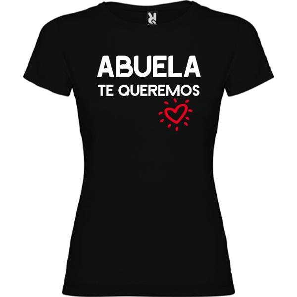 Camiseta Abuela Te queremos
