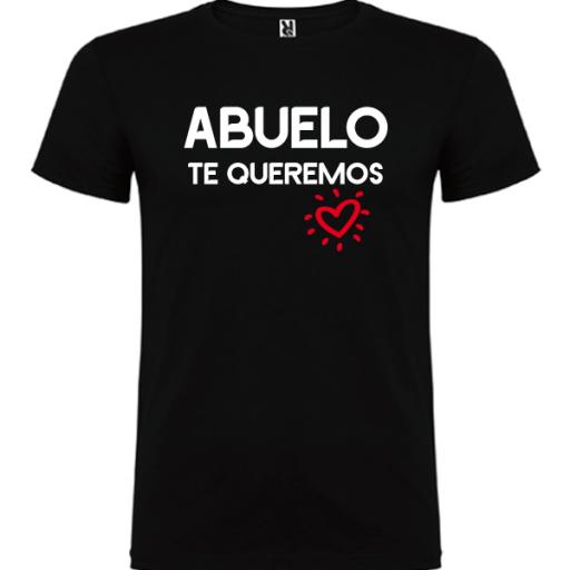 Camiseta Abuelo Te queremos [1]