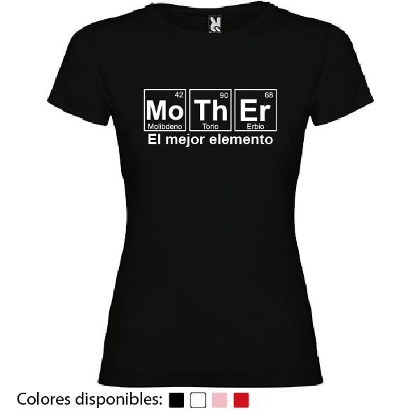 Camiseta Mother, El Mejor Elemento