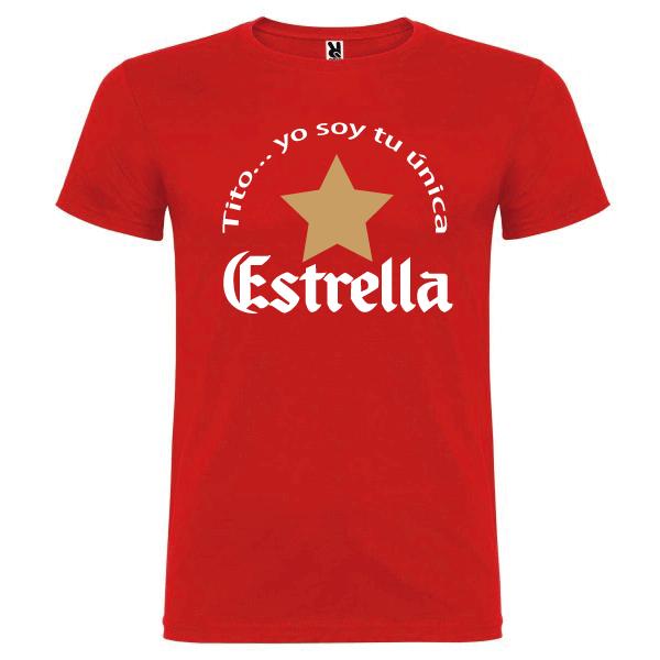 Camiseta Tito soy tu única estrella
