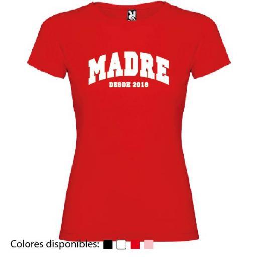 Camiseta Personalizada Madre Desde [2]
