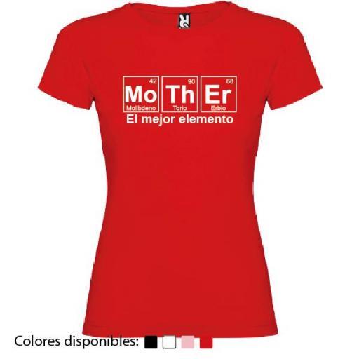 Camiseta Mother, El Mejor Elemento [2]