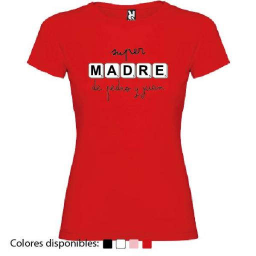 Camiseta Personalizada Super Madre De... [3]