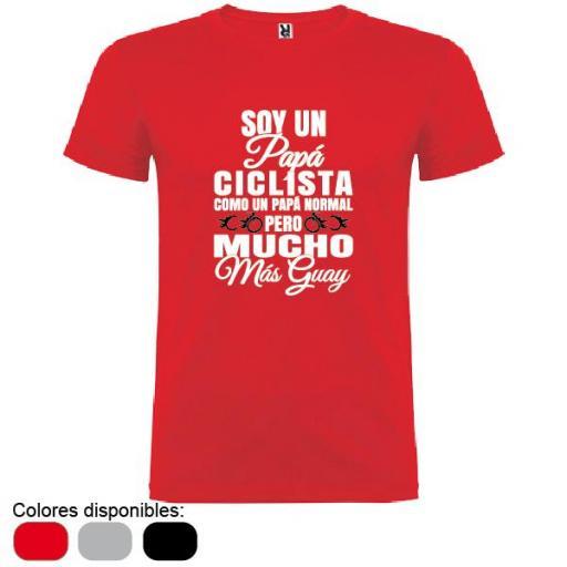 Camiseta Papá Ciclista