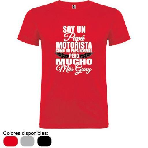 Camiseta Papá Motorista [1]