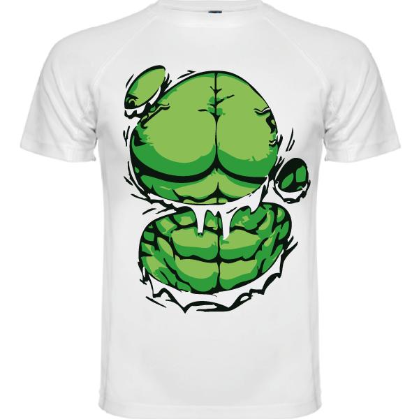 camiseta Técnica Hulk