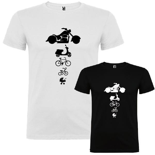 2 Camisetas Moteros (Padre e Hijo)