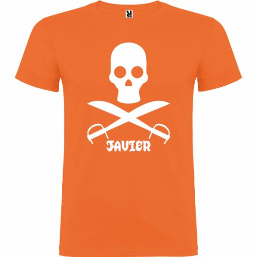 Camiseta Pirata (Unisex) [3]