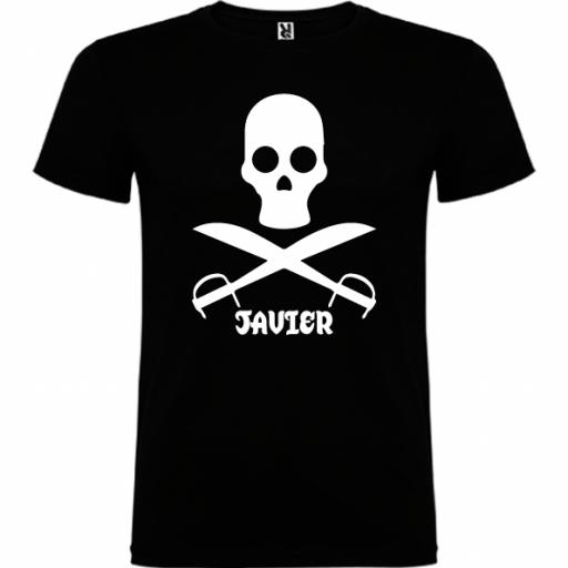 Camiseta Pirata (Unisex) [0]