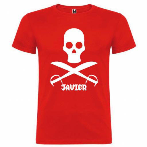 Camiseta Pirata (Unisex) [1]