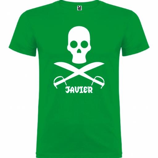 Camiseta Pirata (Unisex) [2]