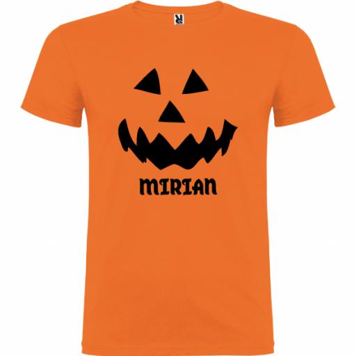 Camiseta Calabaza(Unisex)