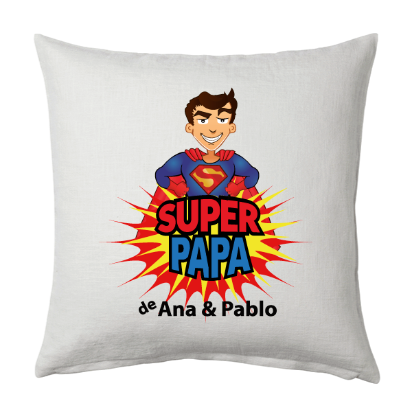 Cojín Super Papá de
