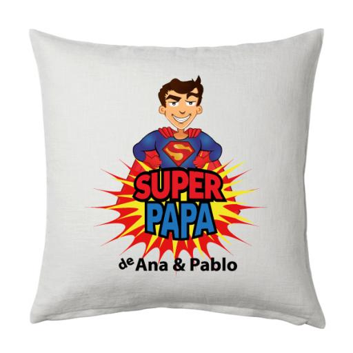 Cojín Super Papá de [0]