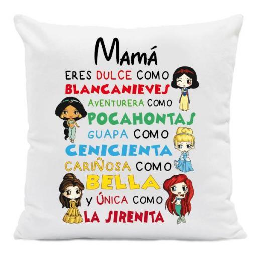 Cojín Princesas Disney Mamá [0]