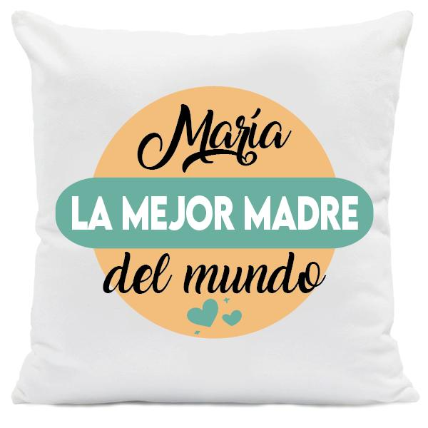 Cojín Personalizado La Mejor Madre del Mundo