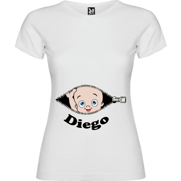 Camiseta Cremallera Mama