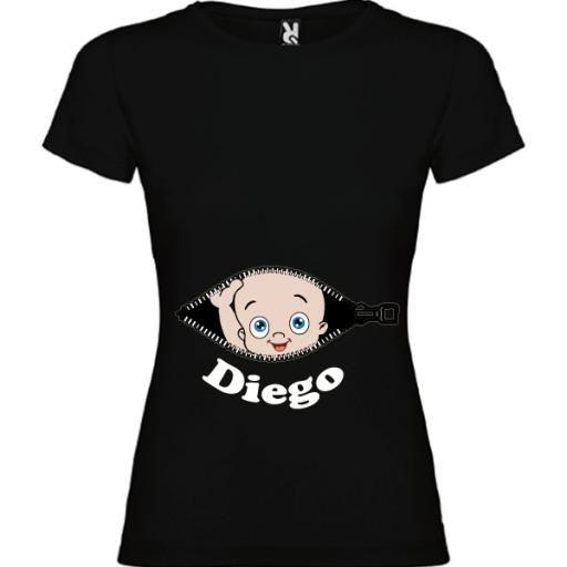 Camiseta Cremallera Mama [1]