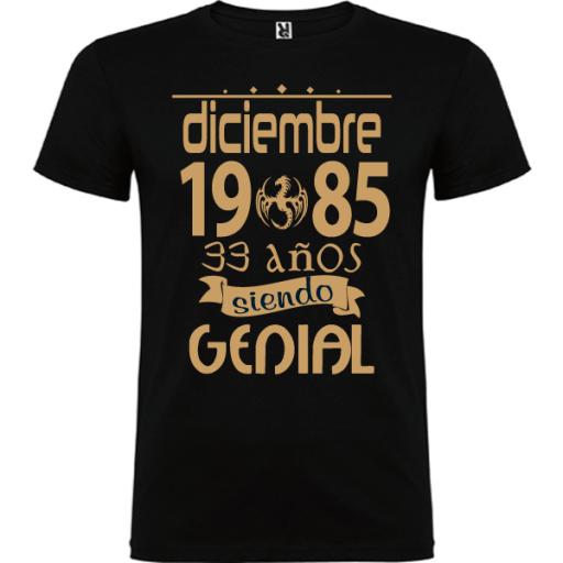 Camiseta Básica Genial Hombre [1]