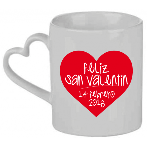 Taza Feliz San Valentín