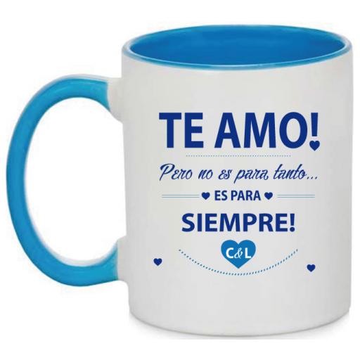 Taza Te Amo