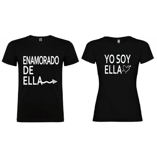 2 camisetas Enamorados
