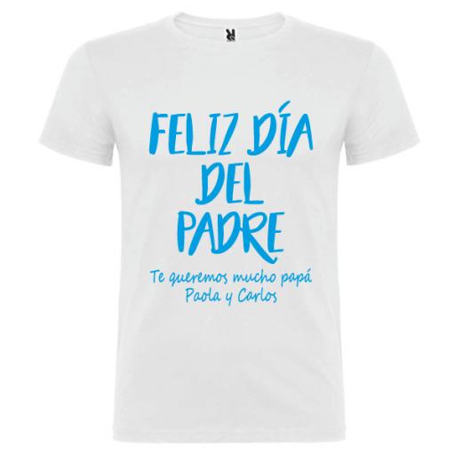 Camiseta Feliz Día Padre [2]