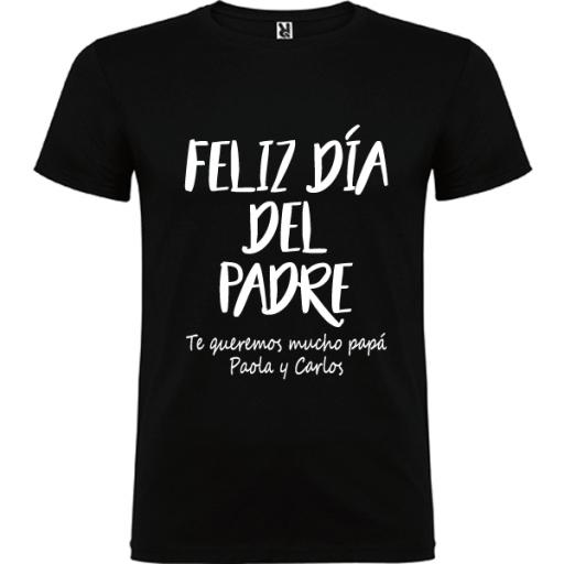 Camiseta Feliz Día Padre [1]