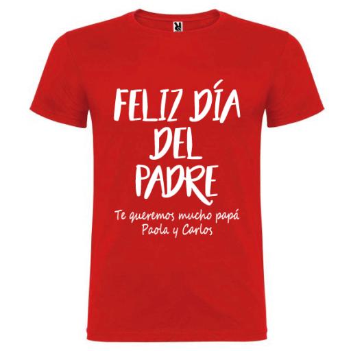Camiseta Feliz Día Padre
