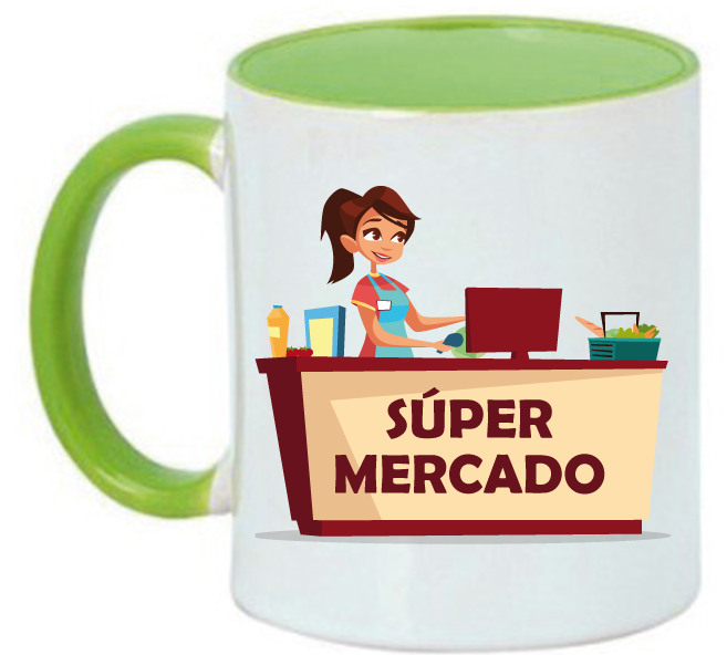 Taza Cajera Superhéroe