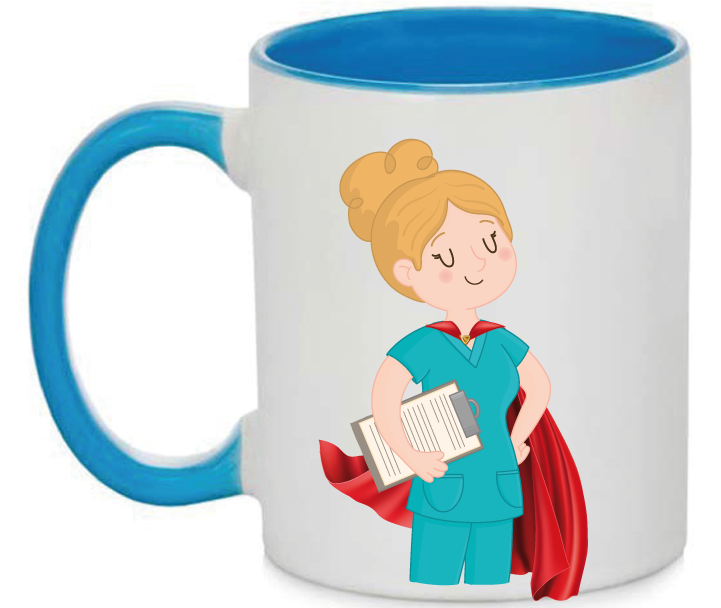 Taza Enfermera Superhéroe
