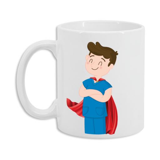 Taza Enfermero Superhéroe [2]