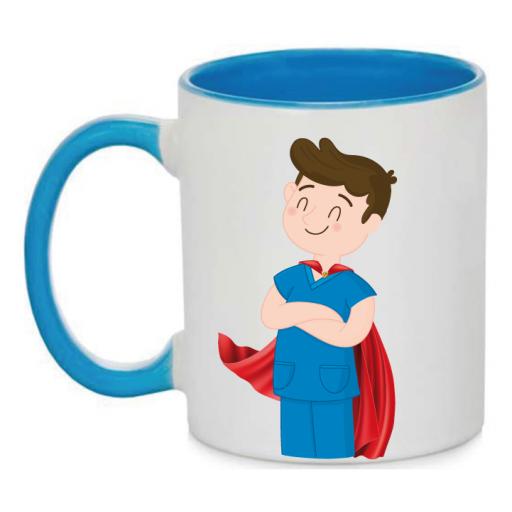 Taza Enfermero Superhéroe