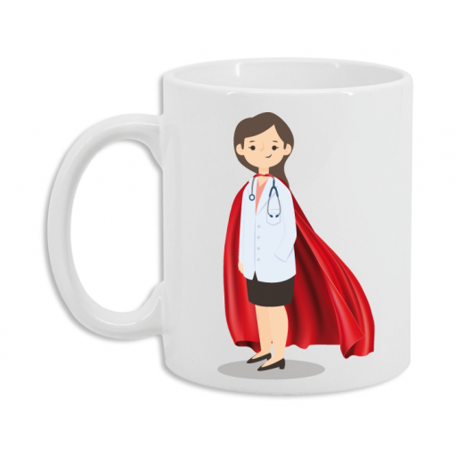 Taza Médica Superhéroe [2]