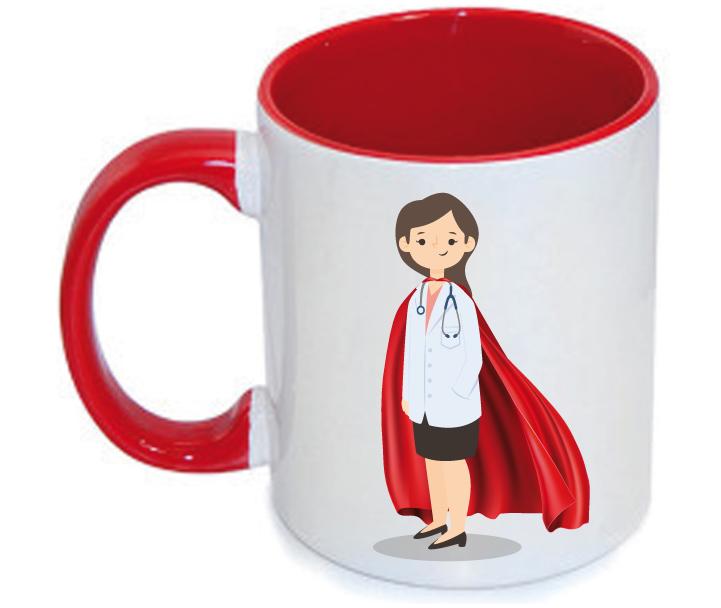 Taza Médica Superhéroe