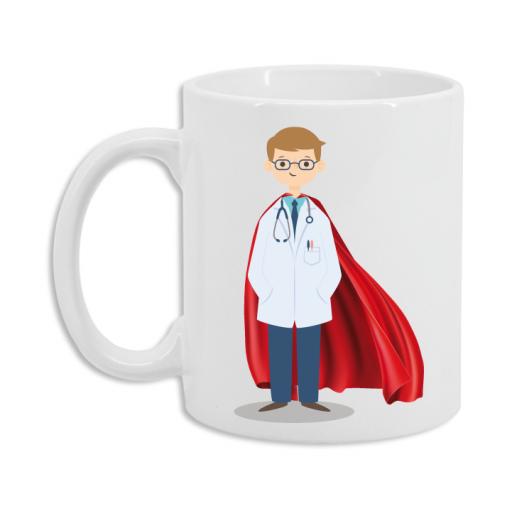 Taza Médico Superhéroe [1]