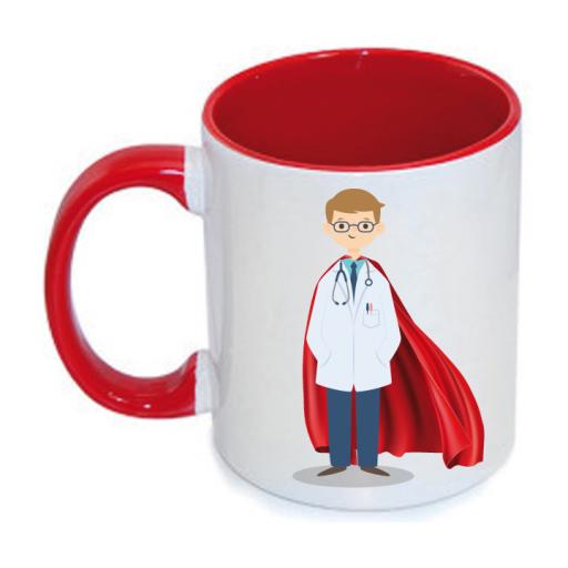 Taza Médico Superhéroe