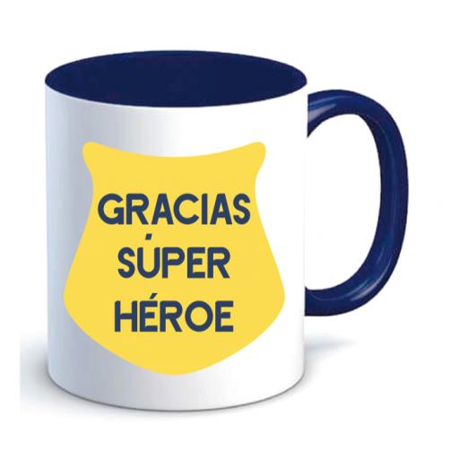Taza Policía Superhéroe [1]