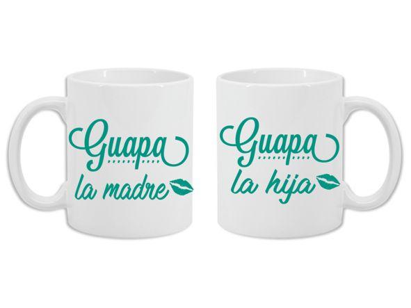 2 Tazas Guapa la madre, Guapa la hija