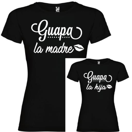 2 Camisetas Guapa la Madre, Guapa la Hija [1]